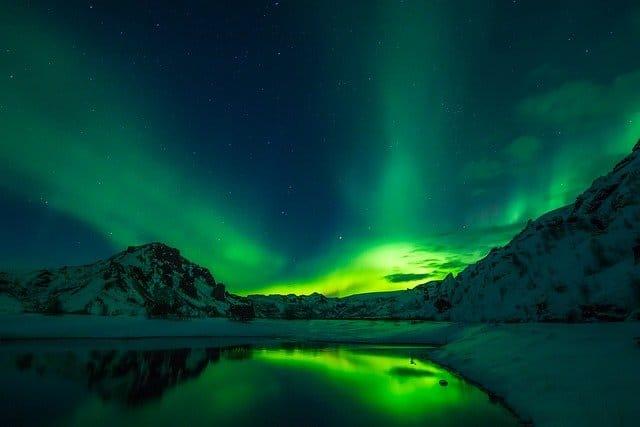 Island Rundreise mit Nordlichtern